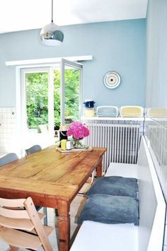 "Please share and vote for us: contest apartment Therapy: johanna's ""Belgian Summer"" Room — Room for Color 2014"