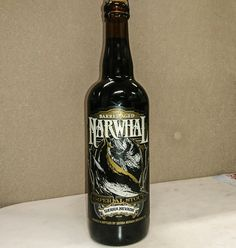 Bought this beer today to add to my collection, over here in Cabramatta, Sydney Australia. You may have heard of it... 😀 2015 Narwhal Barrel Aged Imperial Stout, 12.9%. Sierra Nevada Brewery, Chico, California USA.  This beer has been sitting around for a few years, & I reckon the magic of those Kentucky bourbon barrels, could have only gotten even better!