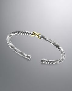 David Yurman - X Bracelet, 4mm