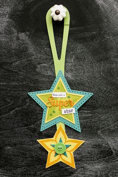 Super Star Door Hanger by Erin Lincoln for Papertrey Ink (September 2015)