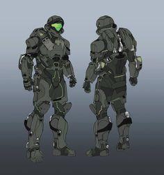 Rocketumblr | Daniel Chavez Halo 5: Guardians Concept Art