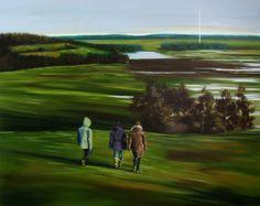 'Land(e)scape IV (The source)' by Mattia Noal http://www.celesteprize.com/artwork/ido:390745/ … #painting #fineart #landscape Celeste Prize