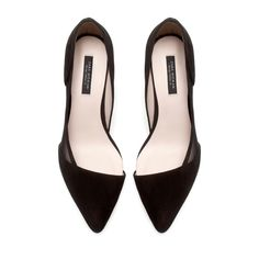 MID-HEEL COURT SHOES - Shoes - Woman - ZARA United States