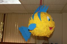 flounder pinata - I think this looks easy enough to make