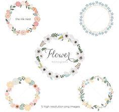 freebie flower monograms - great for DIY wedding invitations!: freebie flower monograms - great for DIY wedding invitations!
