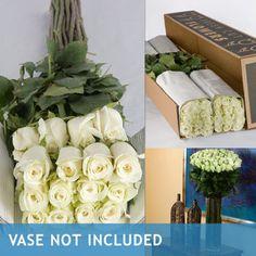 White Roses-100 Stems $89.99