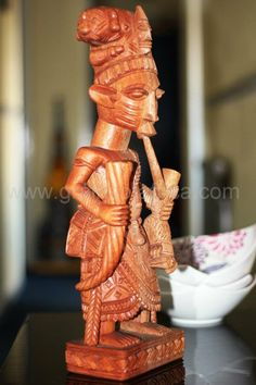 Babalawo (father Of Secrets) carved by the Late Akinlabi Fakeye
