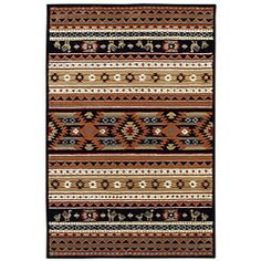 Hand-tufted Cherokee Wool Rug (5' x 8') | Overstock.com Shopping - Great Deals on EORC 5x8 - 6x9 Rugs