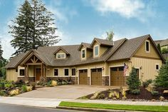 Craftsman Style House House Plans Ranch - Inspiring Home Design Ideas Craftsman Ranch, Craftsman Style House Plans, Craftsman Houses, Craftsman Interior, Modern Craftsman, Style At Home, Southern Living, Home Design, Design Ideas