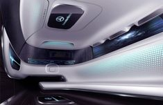 Looks like Mercedes-Benz actually has sufficient vision for the future of the automobile. In the event of Tokyo Motor Show Mercedes-Benz showed off a Car Interior Sketch, Car Interior Design, Automotive Design, Auto Design, Design Cars, Interior Concept, Bag Design, Mercedes Benz, Car Ui