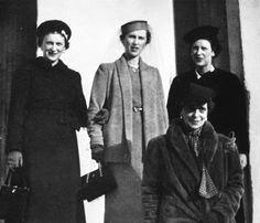 Daughters of Prince Nicolas: Olga, Elisabeth, Marina