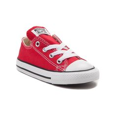 8736dbc7c53 Toddler Converse Chuck Taylor All Star Lo Sneaker - Red - 99398566 Journeys  Kidz