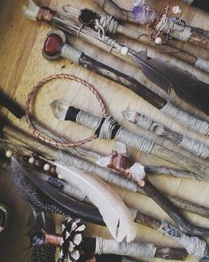 Wands - a practical metaphysicial tool used through crystal... | TheDeepForest.org