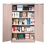 Metal Storage Cabinets with five tiers for garage or basement