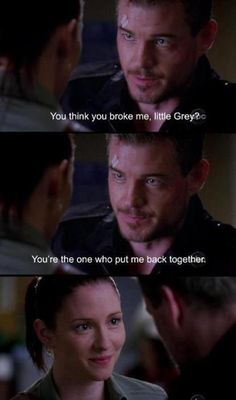 Greys Anatomy!! :    Little Grey and Sloan, PLEASE end up together?