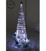 Velký dekorační svítící Vánoční stromeček.