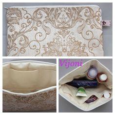 Tasche für die Tasche / Wickeltasche  von Vijoni auf DaWanda.com