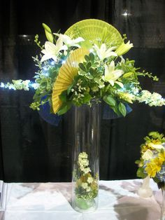 Fans, lilies, and pittosphorum: Flowers - Designs by Victoria Floral