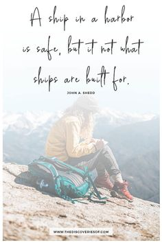 Who doesn't love a good travel quote? In need of inspiration? Check out this collection of 117 best travel quotes to fuel your wanderlust! Are you ready for an adventure? New Adventure Quotes, Best Travel Quotes, Adventure Travel, Frank Herbert, Quotes To Live By, Love Quotes, Inspirational Quotes, Super Quotes, Uplifting Quotes