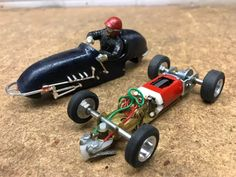 Midget slot car racing,,,,,can't get enough of these