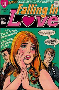 "Nick Cardy. ""Falling In Love"" #119."
