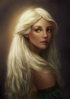 Taïnaëlle Eapheldyn elfe au visage d'ange