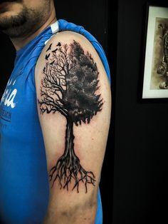 57 Meilleures Images Du Tableau Tattoo Arbre En 2019 Awesome