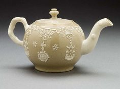 Teapot    Wedgewood, England, 1730    The Los Angeles County Museum of Art