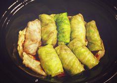 River City Sammon: Vegetarian Stuffed Cabbage Slow Cooker Recipe