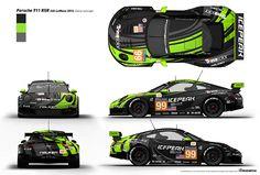 Porsche 911 RSR Livery Design - Overview