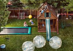 A Silicon Valley dad decided to test his theories about parenting by turning his yard into a playground where children can take physical risks without supervision. Not all of his neighbors were thrilled.