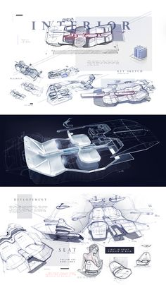 M R Z L : : : The Lamborghini PROJECT on Behance Interior Concept, Car Interior Sketch, Car Interior Design, Interior Design Sketches, Industrial Design Sketch, Interior Rendering, Automotive Design, Interior Styling, Car Sketch