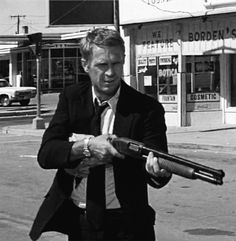 """Steve McQueen en """"La Huida"""", 1972"""