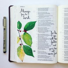 """Proverbs 23:17-18 """"Don't let your heart envy sinners; instead, always fear the LORD. For then you will have a future, and your hope will never fade."""" #illustratedfaith #biblejournaling #artjournaling #scripture #art #faith #biblejournalingcommunity #shepaintstruth #hpickeringbiblejournaling"""