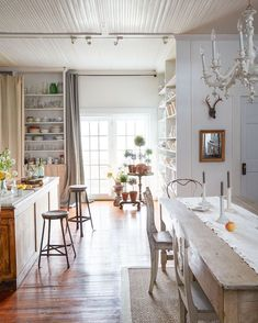 A Historical Hudson, NY, Home Reimagined (European Antiques Included)
