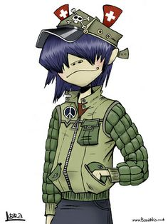Photo of Noodle for fans of Gorillaz 21812410 Gorillaz Noodle, Gorillaz Art, Jaguar, Jamie Hewlett Art, Sunshine In A Bag, Character Art, Character Design, Tank Girl, Cool Bands
