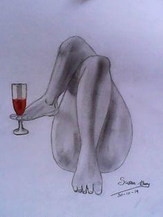 seksi sketch on paper