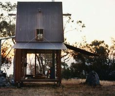 Cabin on a Remote Sheep Station By Rob Brown