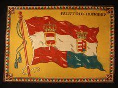 Austria Hungay Flag Early 1900s Tobacco Cigar Cigarettes Silks Felt Rug Doll | eBay