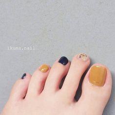 Trendy Summer Toe Nail Designs for 2019 Toe Nail Color, Toe Nail Art, Nail Colors, Feet Nails, My Nails, Feet Nail Design, Nails Design, Summer Toe Nails, New Nail Designs