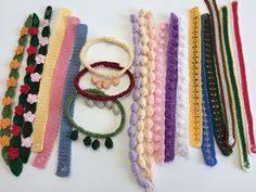 42 Fantastiche Immagini Su Bracciali Alluncinetto Crochet