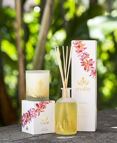 We love Malie Organics! Get your fix of Hawaii's fragrant scents at the Spa at Trump!