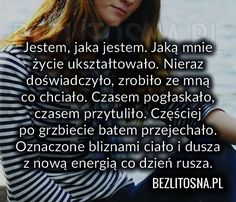 Sad Love, Motto, Wise Words, Good Things, Humor, Quotes, Poland, Inspiration, Quotations