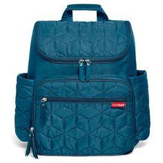 Skip Hop Forma Quilted Diaper Backpack, Blue