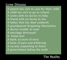 That's Lyme for ya!