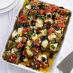 Sicilian-Style Stuffed Eggplant