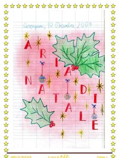 Christmas Time, Christmas Crafts, Italian Language, Retro Illustration, Projects To Try, Bullet Journal, Scrapbook, Teaching, Education