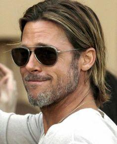 Surfer Hairstyles, Brad Pitt Hairstyles, Brad Pitt Haircut, Mens Medium Length Hairstyles, Medium Hair Styles, Long Hair Styles, Long Hair Cuts, Grunge Hair, Hair And Beard Styles
