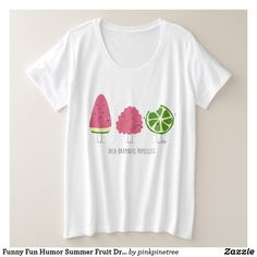 Funny Fun Humor Summer Fruit Dramatic Popsicles Plus Size T-Shirt Plus Size T Shirts, Summer Fruit, Fun Funny, Funny Humor, Popsicles, Wardrobe Staples, Cool T Shirts, About Me Blog, Casual