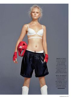 SPORTY CHIC by Sy Delorme (Madame Figaro)